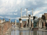 Pompeii Ruins, a unique heritage in the world